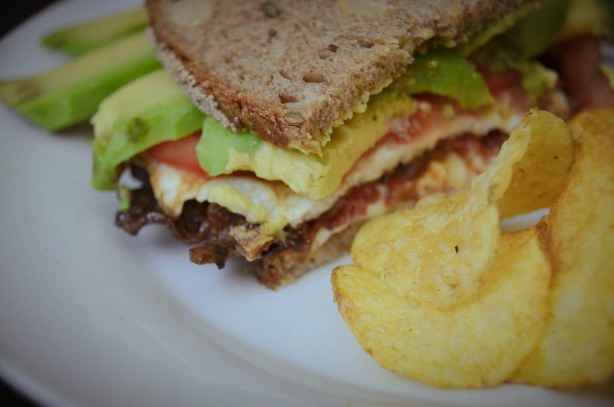 Bacon-Avocado-Mozzarella-Sandwich {www.dasweissevomei.com}