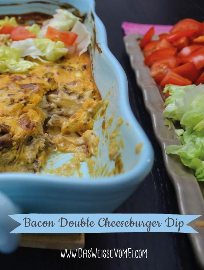 Bacon Double Cheeseburger Dip {www.dasweissevomei.com}
