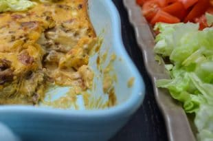 Bacon Double Cheeseburger Dip {www.dasweissevomei.com}