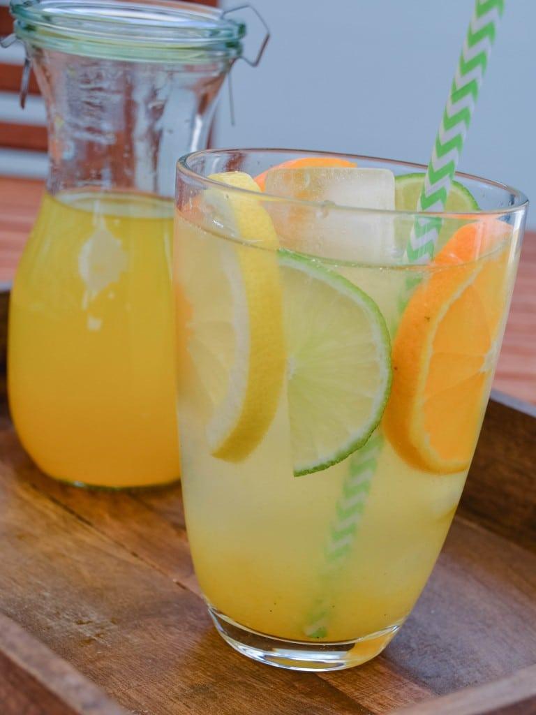 Citrus Sirup - Citrus Limonade {www.dasweissevomei.com}