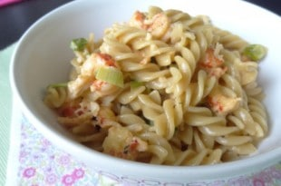 Crawfish Monica - Südstaaten Pasta mit Flusskrebsen {www.dasweissevomei.com}
