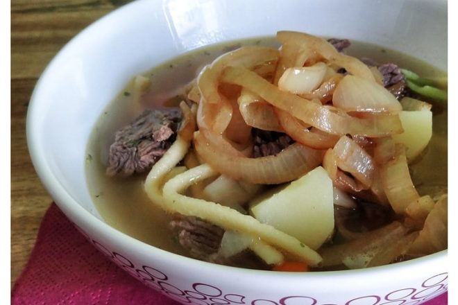 Gaisburger Marsch - Suppe - Eintopf aus dem Schwabenländle {www.dasweissevomei.com}