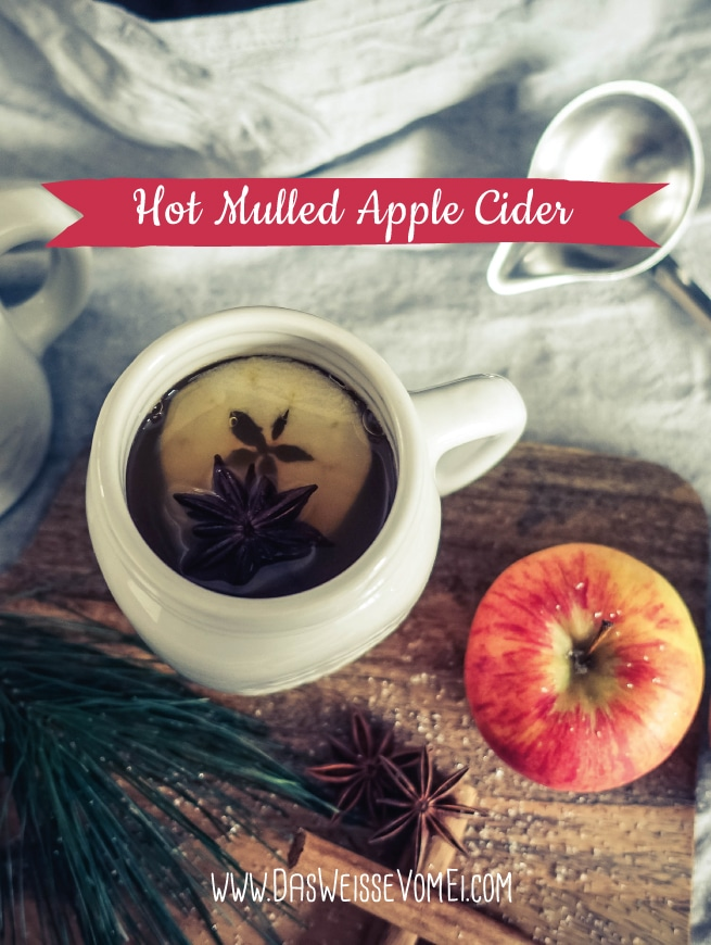 Hot Mulled Apple Cider {www.dasweissevomei.com}