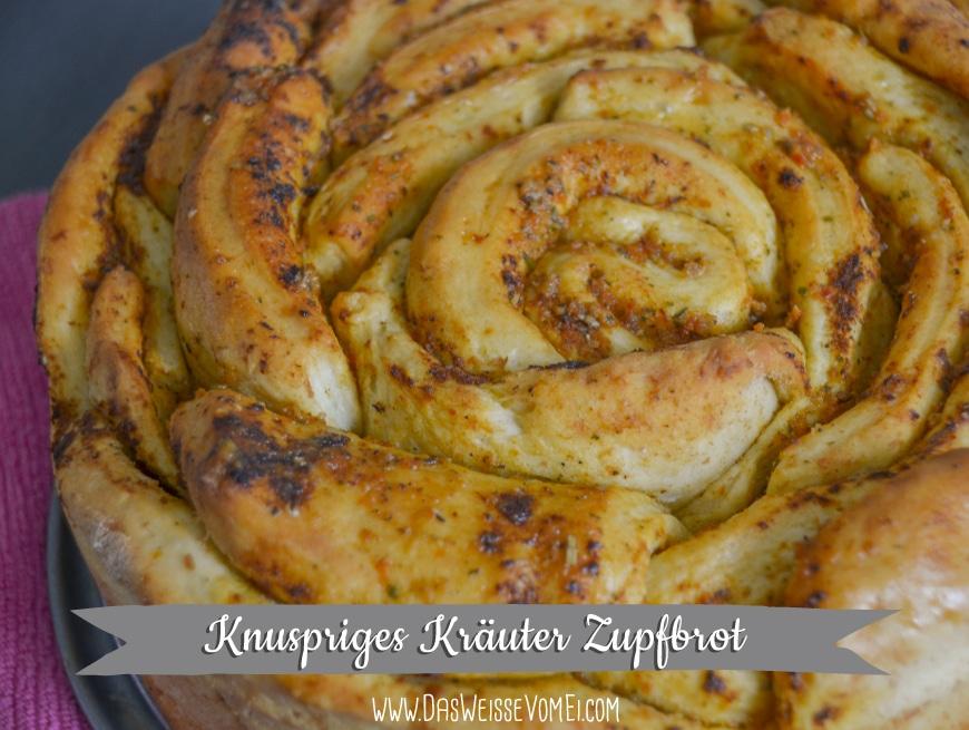 Knuspriges Kräuter Zupfbrot {www.dasweissevomei.com}