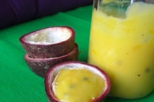 Passionsfrucht Curd - Passion Fruit Curd - Lilikoi {www.dasweissevomei.com}