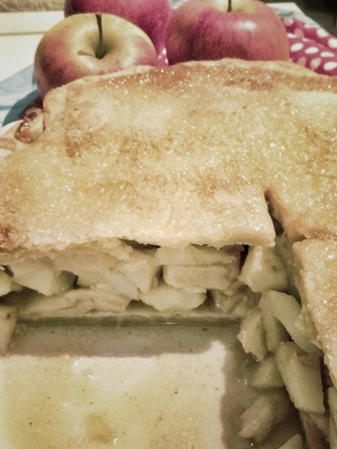Apple Pie - Amerikanischer Apfelkuchen {www.dasweissevomei.com}