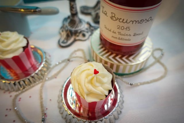 Red Velvet Cupcakes {www.dasweissevomei.com}