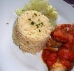 Gebackener Knoblauch Reis Pilaw {www.dasweissevomei.com}