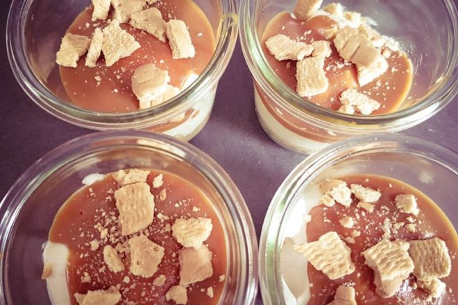 Salted Caramel Cheesecake im Glas {www.dasweissevomei.com}