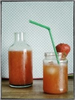 Strawberry Lemonade - Erdbeer Limonade {www.dasweissevomei.com}