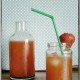 Strawberry Lemonade - Erdbeer Limonade {www.dasweissevomei.com}