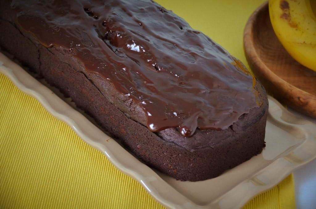 Triple-Chocolate-Banana-Bread Loaf